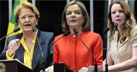 Ana Amélia denuncia pilantragem de Gleisi e destrói argumentação de Grazziotin (Veja o Vídeo)