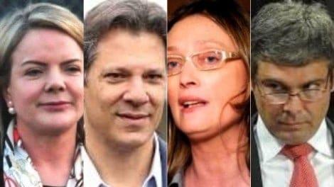 Gleisi, Haddad, Rosário e Lindbergh, as reveladoras ausências na ceia de Lula (Veja o Vídeo)