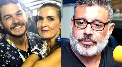 """Namorado de Fátima Bernardes usa Frota como """"escada"""" para se projetar"""