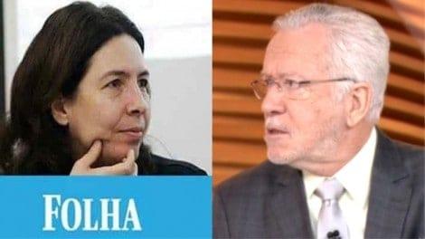 Pura inveja: Jornalista da Folha ironiza Alexandre Garcia