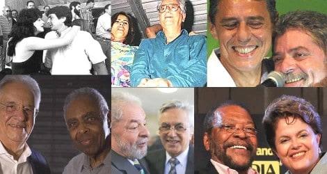 """O envolvimento de """"famosos"""" com políticos ao longo da história e o saldo negativo apresentado"""