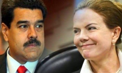 Gleisi em Caracas: apoio ou medo?