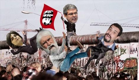 """Outro """"muro"""" marxista que começa a ser derrubado"""