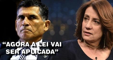 """General Santos Cruz adverte Miriam Leitão sobre o MST: """"Invadir propriedade alheia é crime"""" (Veja o Vídeo)"""