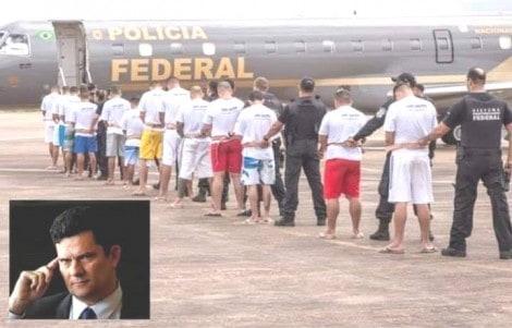 Ministro Moro garante que não vai faltar cadeia para a bandidagem