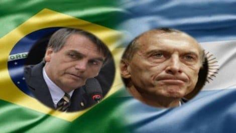 Em cerimônia apoteótica, Bolsonaro recebe Maurício Macri (Veja o Vídeo)