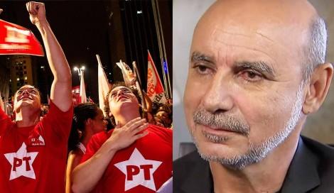 O petista perguntando do Queiroz é como o Maníaco do Parque reclamando que você olhou para uma bunda na rua