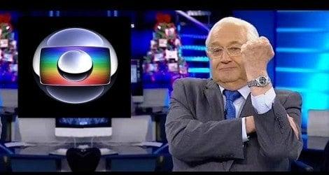 Boris Casoy põe no chão a Rede Globo (Veja o Vídeo)