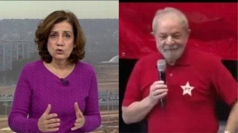 Miriam Leitão, crítica voraz de Bolsonaro, não sabe o que Lula pensa sobre ela (Veja o Vídeo)