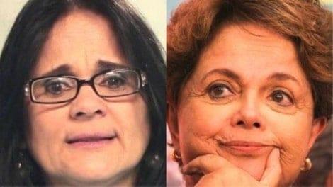 Damares decidirá sobre pedido indenizatório milionário de Dilma Rousseff