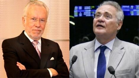 """Alexandre Garcia vê a hipocrisia de Renan, que agora """"reza"""" por Bolsonaro (Veja o Vídeo)"""