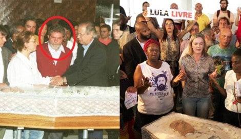 Jornalista Augusto Nunes surpreende e leva outro cadáver para o velório de Vavá (Veja o Vídeo)