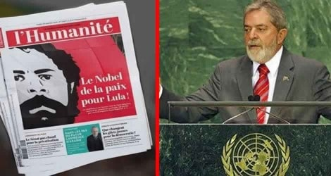 A ópera bufa do Prêmio Nobel da Paz para Lula
