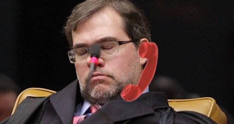 Presidente do Senado deixa Dias Toffoli pendurado no telefone