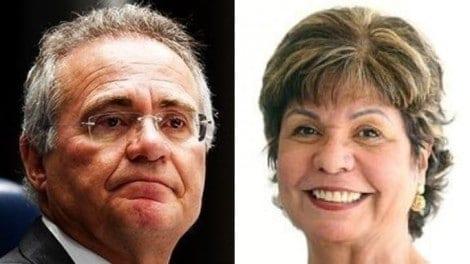 Renan acusa a jornalista Dora Kramer de assédio e parte para a agressão verbal