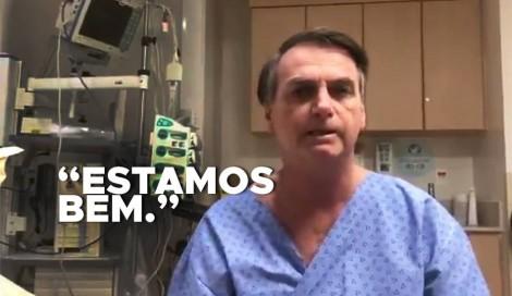 """Bolsonaro alerta: """"Cuidado com o sensacionalismo. Estamos bem e seguimos firmes"""" (Veja o Vídeo)"""