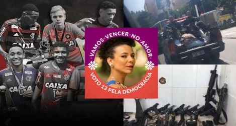 Deputada do PSOL iguala garotos do Flamengo a bandidos mortos em tiroteio com a polícia