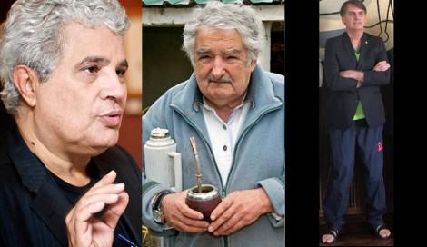 Hipócrita, Noblat, da Revista Veja, louva simplicidade de Mujica, mas ataca a de Bolsonaro