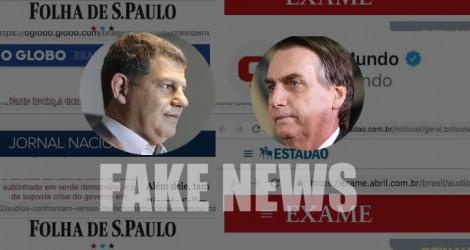 Análise elucidativa sobre as Fake News da grande mídia no caso Bolsonaro - Bebianno