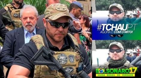 A medíocre implicância de Gleisi e do PT com o policial que escoltou Lula