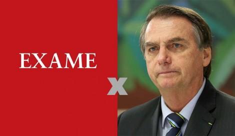 O abismo entre as falas de Bolsonaro e as manchetes da grande mídia
