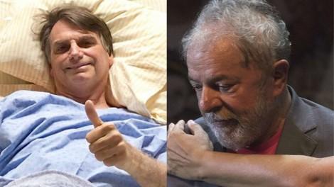 Os gastos do governo com a internação de Bolsonaro, a prisão de Lula e a opinião da Grande Mídia