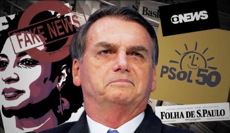 Chegou a hora de Bolsonaro processar um sociólogo patife e um deputado canalha