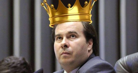 Rodrigo Maia, da megalomania ao abate...