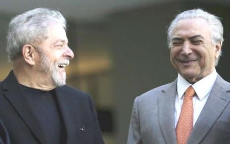 """O """"acordão"""" que soltou Temer também libertará Lula das grades"""