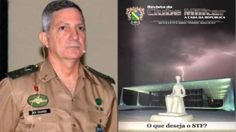 Em publicação do Exército, militares denunciam a Ditadura da Toga do STF