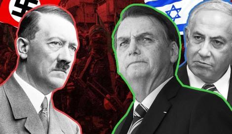 Se Hitler fosse vivo, a manchete da extrema imprensa: Hitler critica Bolsonaro (Veja o Vídeo)