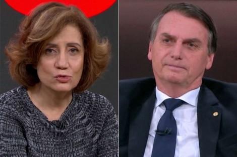 """Miriam Leitão volta a atacar Bolsonaro: """"Mentiroso e perigoso"""". Saiba o real motivo de tanta ira... (Veja o Vídeo)"""