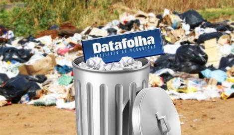 """A """"pesquisa"""" que desmoraliza a pesquisa do desmoralizado Datafolha"""