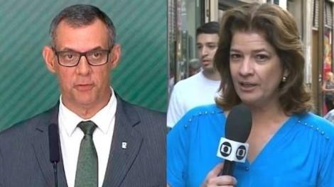 Porta voz da presidência pega na mentira jornalista da Globo  (Veja o Vídeo)
