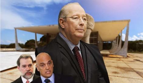 Decano do STF aplica vexatória descompostura em Toffoli e Moraes