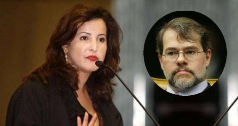 Contra Toffoli, ainda pesa o escândalo da mesada da esposa, a advogada Roberta