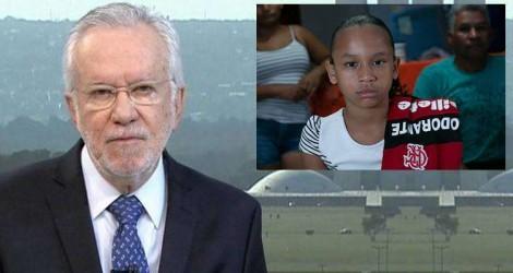 """""""A Fake News quis atingir o Presidente, mas acertou uma menina"""", diz Alexandre Garcia (Veja o Vídeo)"""