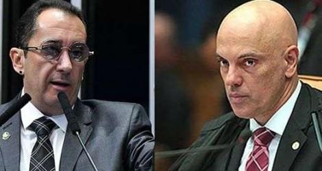"""Kajuru agora mira Alexandre de Moraes: """"Já foi até advogado de cooperativa do PCC"""" (Veja o Vídeo)"""