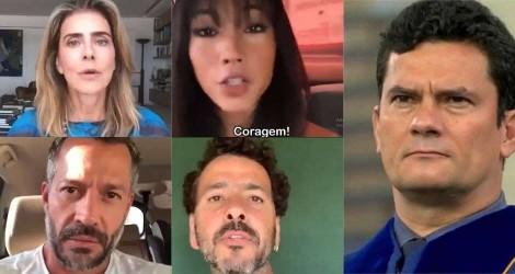 Artistas comprometidos com a nação fazem apelo em apoio a Lei Anticrime de Sérgio Moro (Veja o Vídeo)