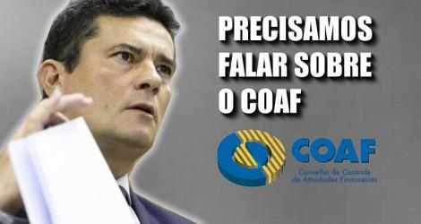 """Sergio Moro: """"Precisamos falar sobre o COAF"""""""