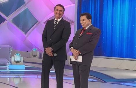 Bolsonaro publica foto com Silvio Santos e faz chamada para programa. Não perca!