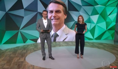 Na falta de assunto, Globo faz montagem contra Bolsonaro (Veja o Vídeo)