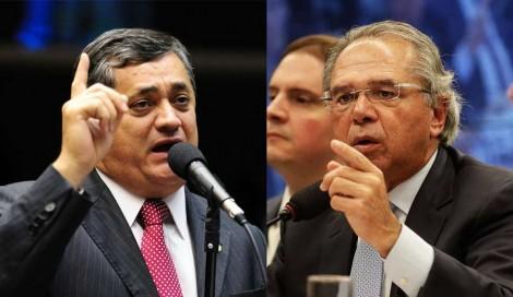 """Oposição provoca Guedes e leva rebatida do ministro: """"Se googlar 'dinheiro na cueca' aparece, né?"""" (veja o vídeo)"""