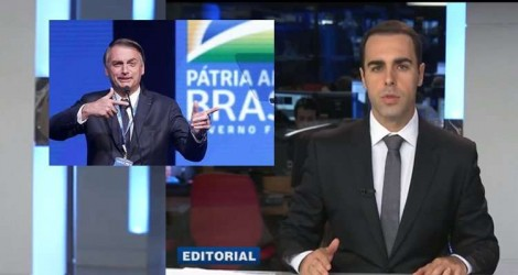 Band desprende-se da extrema imprensa e manifesta apoio ao 'Decreto de Armas' de Bolsonaro (Veja o Vídeo)