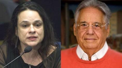 """Em duas tuitadas, Janaína desmascara FHC: """"É o mais letrado dos petistas"""""""