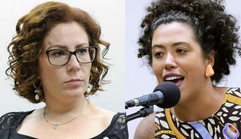 """""""Louca"""", deputada do PSOL xinga e manda Zambelli 'calar a boca', que não se intimida (Veja o Vídeo)"""