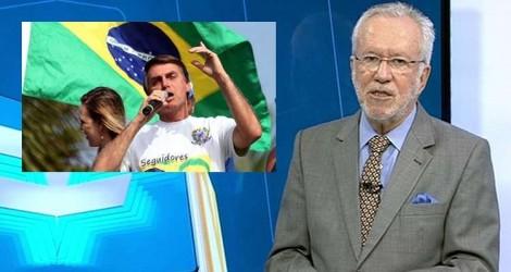 Bolsonaro compartilha vídeo emocionante e elucidativo de Alexandre Garcia (Veja o Vídeo)