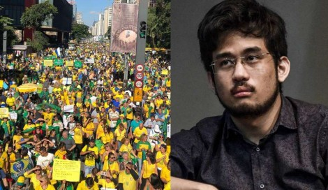 Em coro, manifestantes exterminam acusações de radicalismo da velha mídia e do MBL (veja o vídeo)