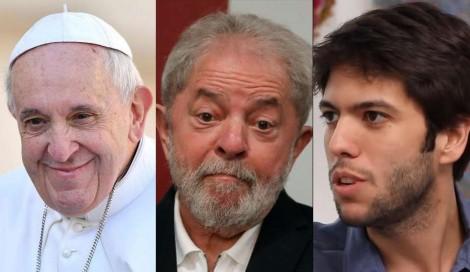 Caio Coppolla detona carta de Papa a Lula e o clima esquenta (veja o vídeo)