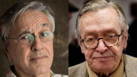 Por acusação de pedofilia, Caetano quer faturar R$ 150 mil de Olavo de Carvalho